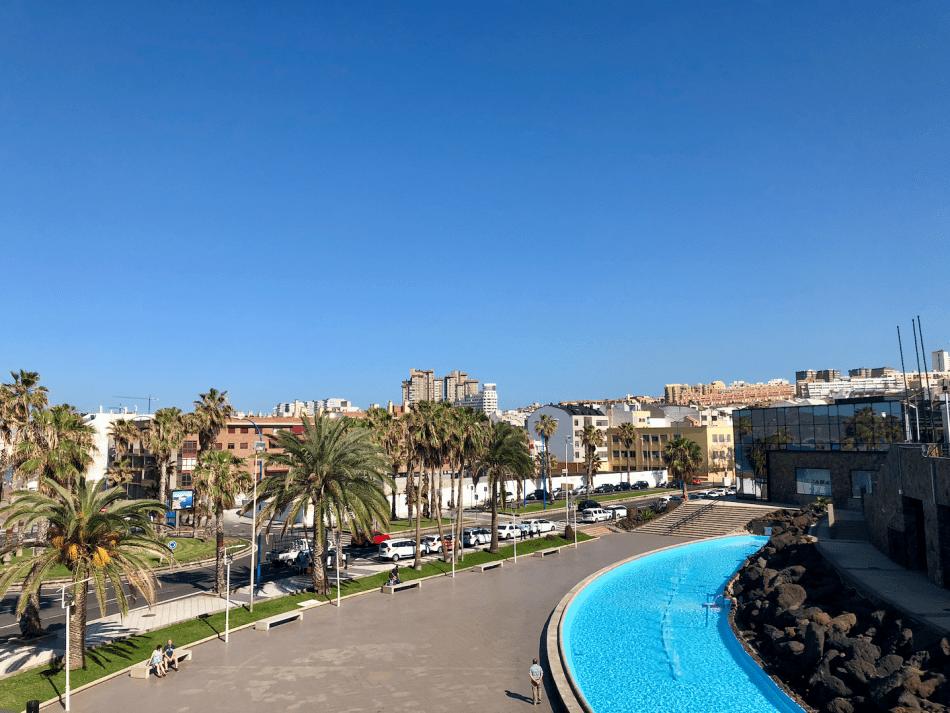 Appartementen bij winkelcentrum Las Arenas in Las Palmas Gran Canaria