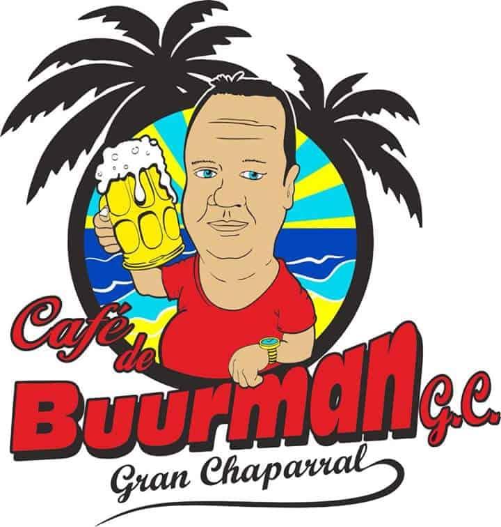 Een interview met- Café de Buurman in de Gran Caparral - Logo Café de buurman