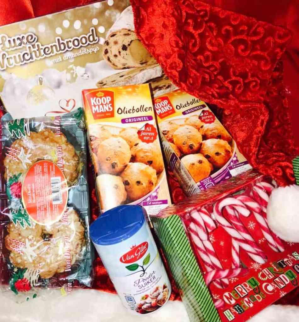 Emigreren Gran Canaria - Winactie feestdagenpakket - Win een kerstpakket vol lekkers - de Nederlandse Supermarkt