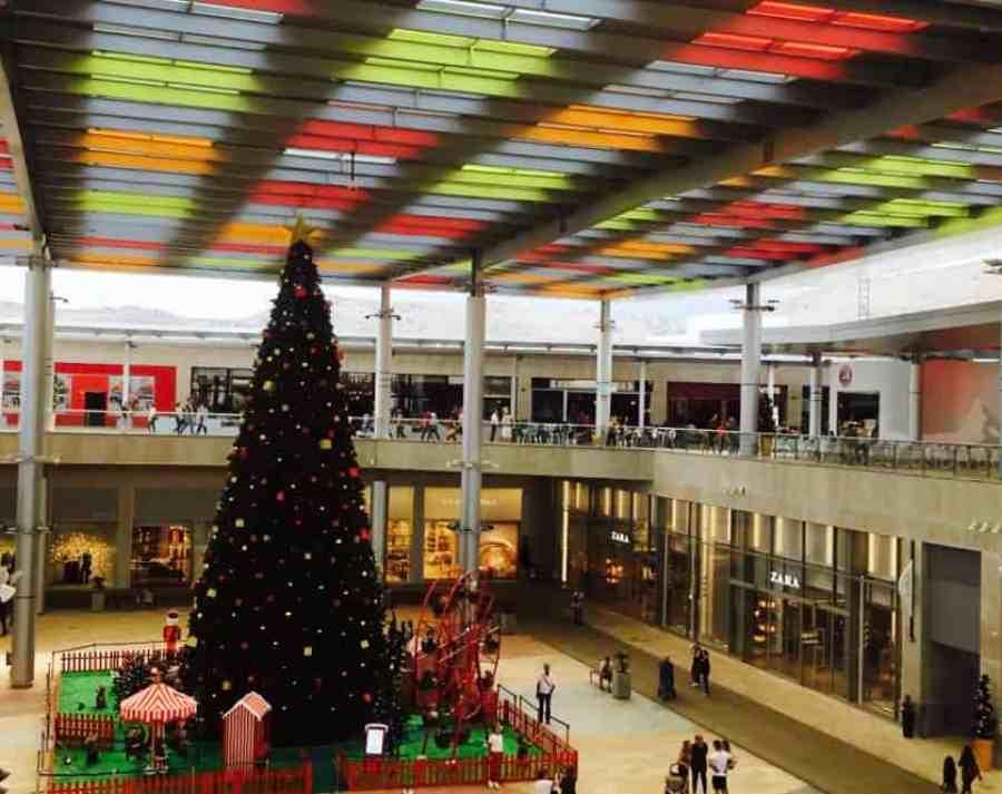 Emigreren Gran Canaria - Winkelcentrum Alisios op Gran Canaria - Winkelen tijdens kerst - Shoppen op Gran Canaria