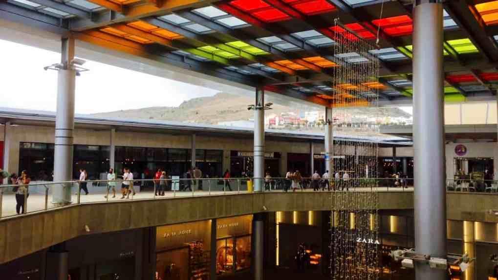 Emigreren Gran Canaria - Winkelcentrum Alisios op Gran Canaria - Winkelen tijdens kerst