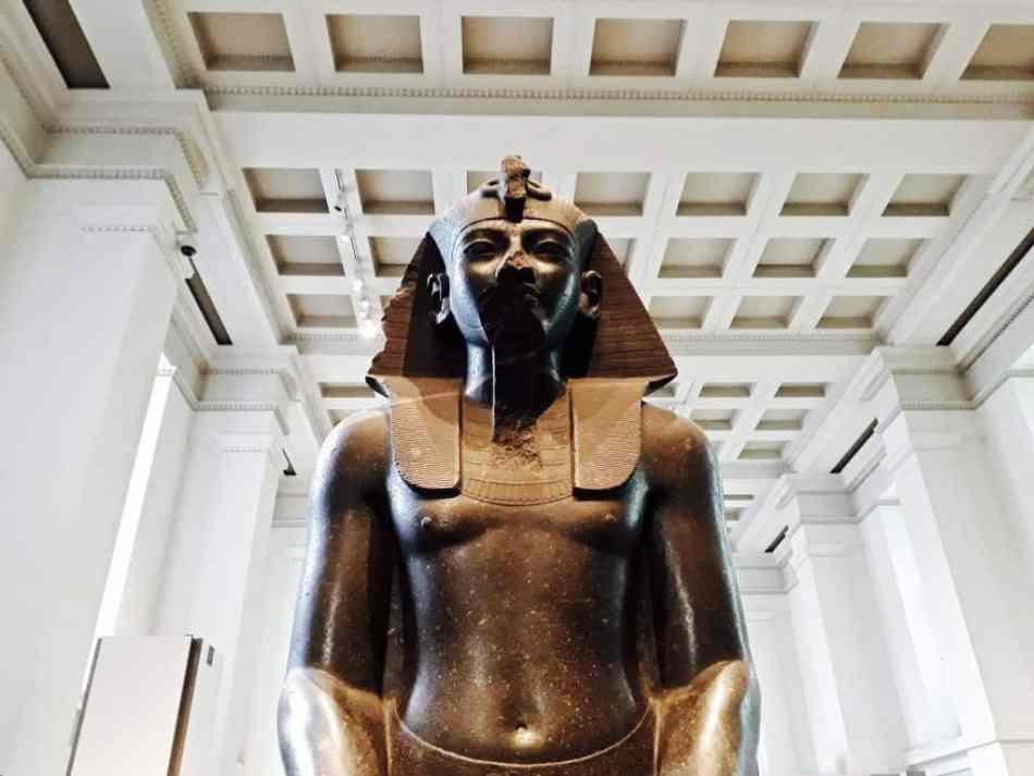 Reisverslag Londen deel 2 - Bezienswaardigheden + tips - British Museum Londen Egypte collectie