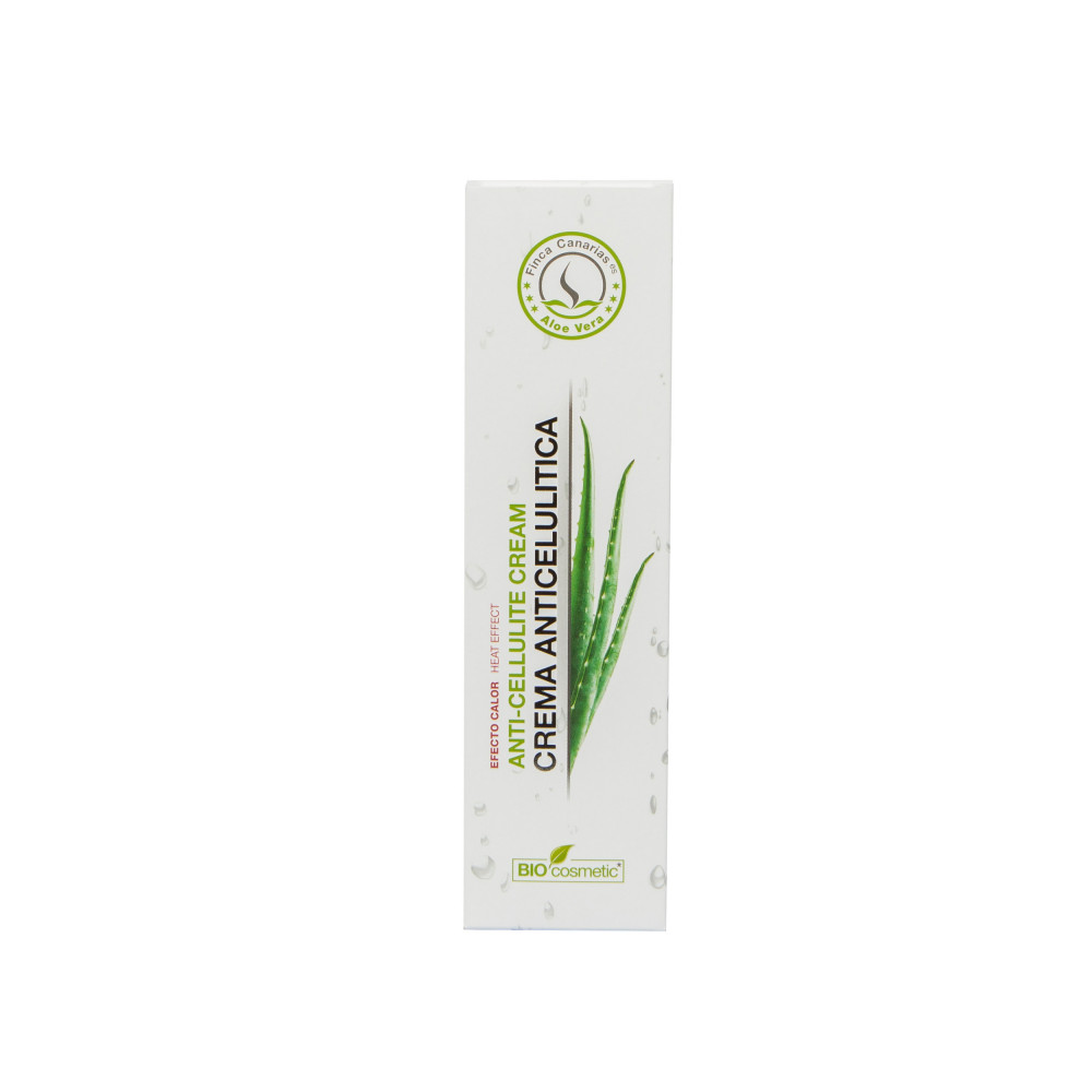 Aloe Vera Anti Cellulitis Crème kopen met 30% Aloe Vera uit de Canarische Eilanden Verpakking