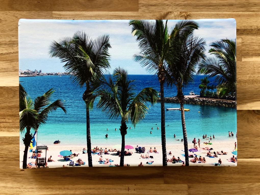 Emigreren Gran Canaria - Winactie fotofabriek - Win een foto op Canvas van 30 x 20 cm - Canvas Anfi del Mar