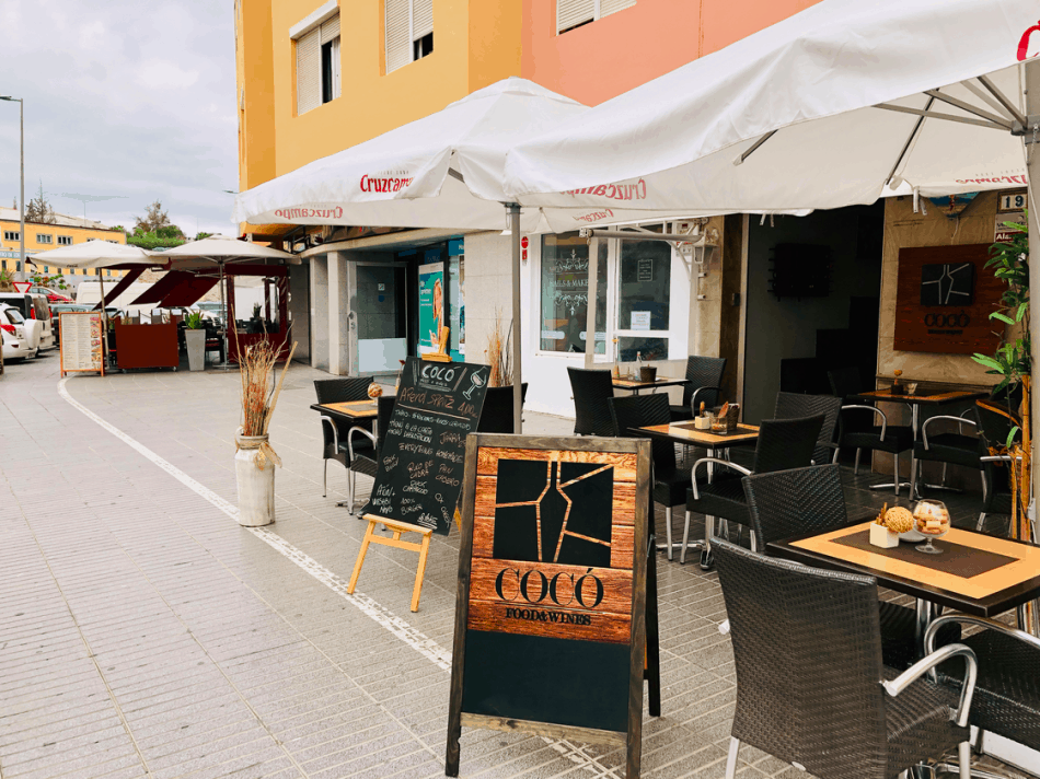 Terras van Coco Food en Wines in San Fernando