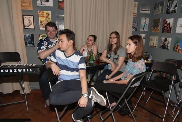 Cativa dintre bloggerii prezenti la lansare