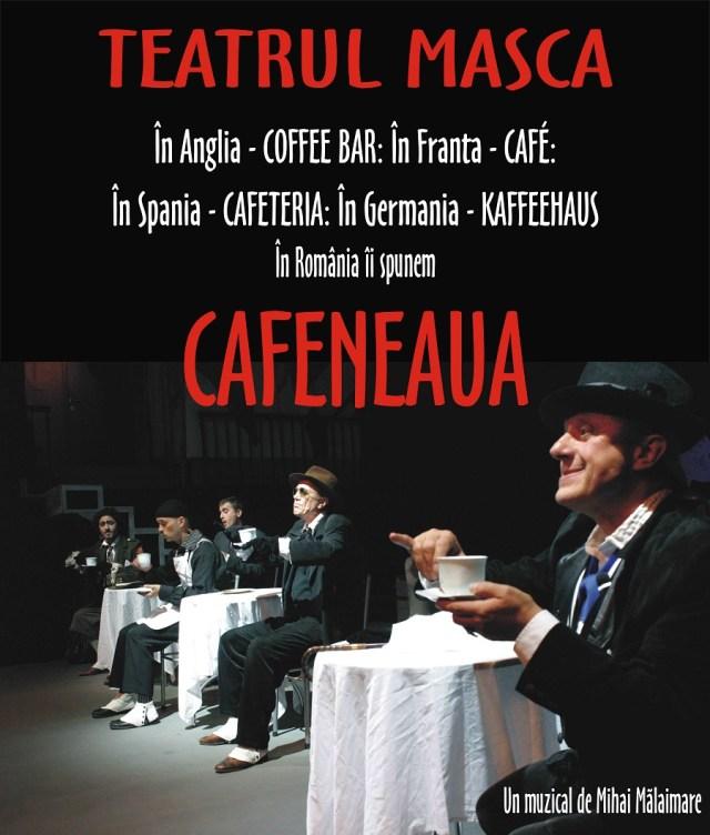 Cafeneaua Masca Poster