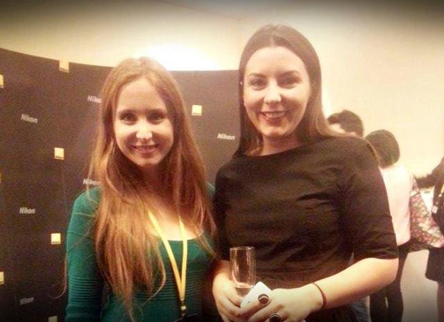 Diana Duca alaturi de una dintre bloggeritele pe care le apreciaza, Cristina Mazilu