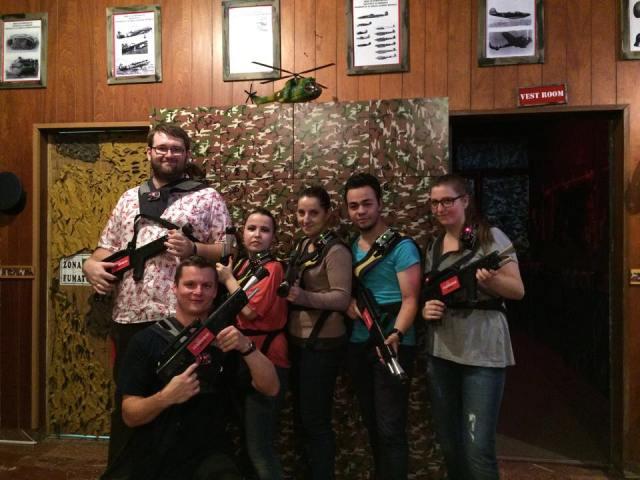 Echipa bloggerilor Laser tag