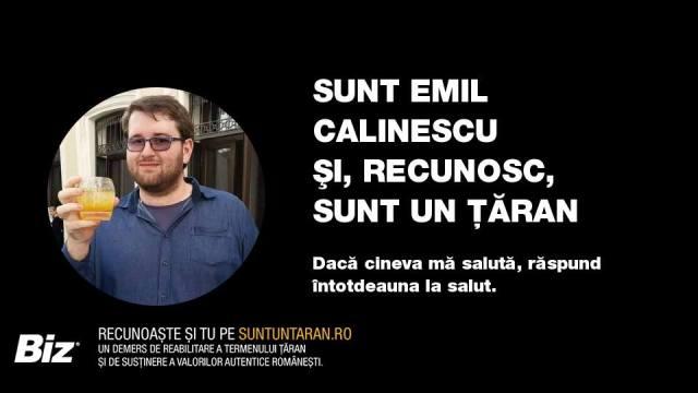 Emil Calinescu Sunt un taran