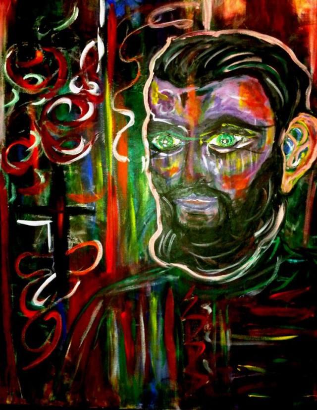 Nora Cupcencu pictura Arsenie Boca