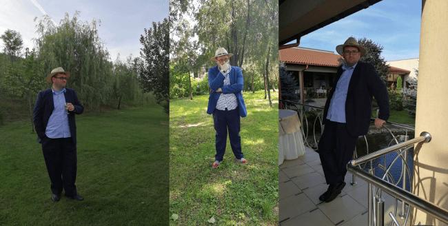 Nunta in post Emil Calinescu la nunta