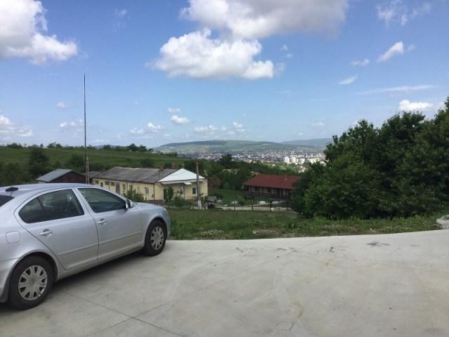 Peisaj exterior Pensiunea La Villa Cluj