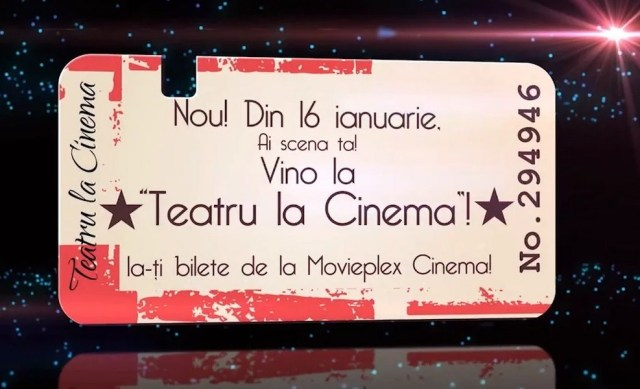 Teatru la Cinema