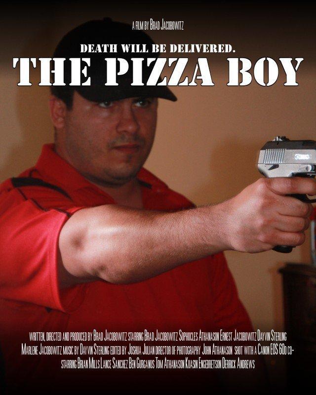 Posterul filmului Pizza Boy, din 2013, film de care mi-am amintit cand scriam acest articol.