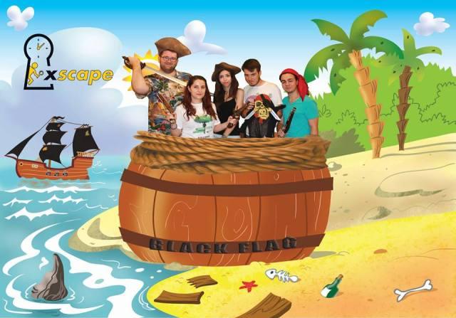Xscape Corabia Piratilor Echipa
