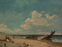 Emil Carlsen : Nantasket Beach, 1876.