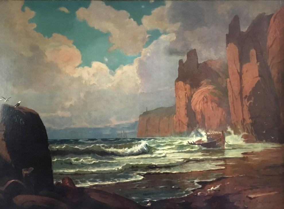 Emil Carlsen : Marine, ca.1879.