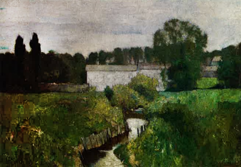 May (also called May Morning & French Landscape), 1885