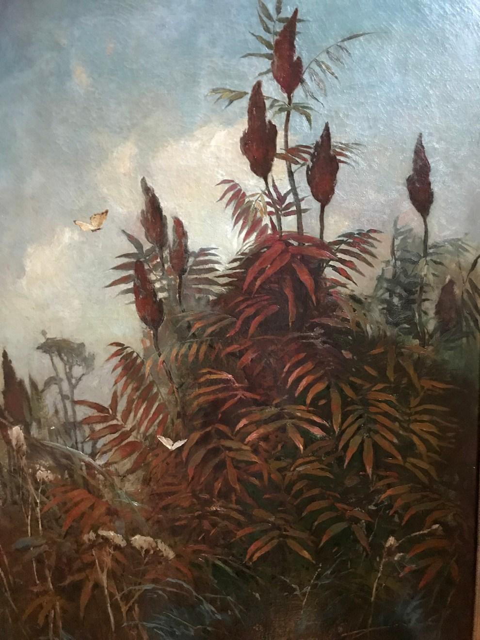 Emil Carlsen : Staghorn sumac, 1883.