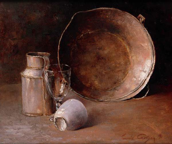 Emil Carlsen Still Life, 1891