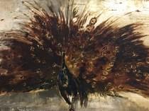 Emil Carlsen : Peacock, ca.1886.