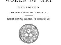 "1888 Museum of Fine Arts, Boston, MA, ""Works of Art Exhibited on the Second Floor"", Winter, 1888-1889"
