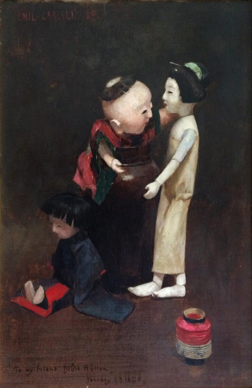 Emil Carlsen : China dolls, 1889.