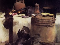 Emil Carlsen Thanksgiving still life, 1891