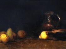 Emil Carlsen Pitcher with Pears, ca.1874