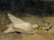 Emil Carlsen Still Life with Swan, 1894
