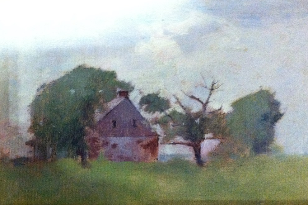 Emil Carlsen House in the Trees, c.1930