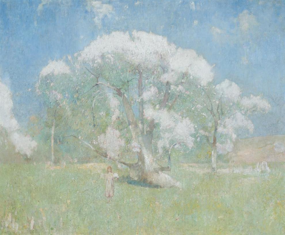 Emil Carlsen : Apple blossom, ca.1904.
