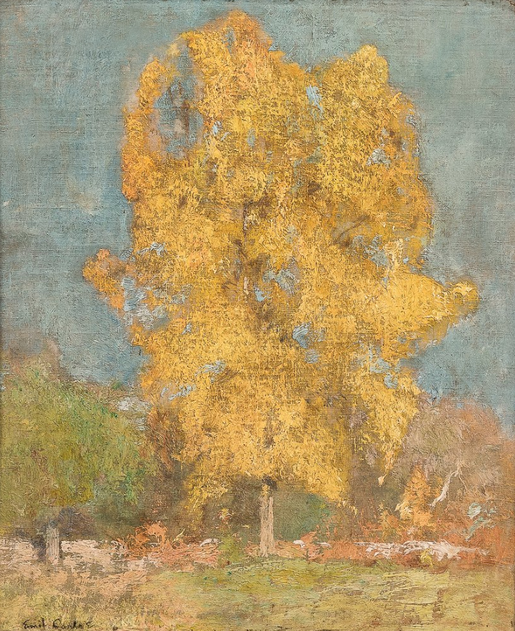Emil Carlsen : Golden tree, ca.1904.