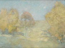 Emil Carlsen : Autumn morning—fading moon, ca.1906.