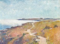 Emil Carlsen Road To The Beach (also called The Road To The Sea), c.1910