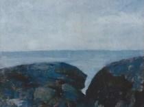 Emil Carlsen : Beach study, ca.1908.