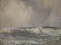 Emil Carlsen : Breakers, 1908.