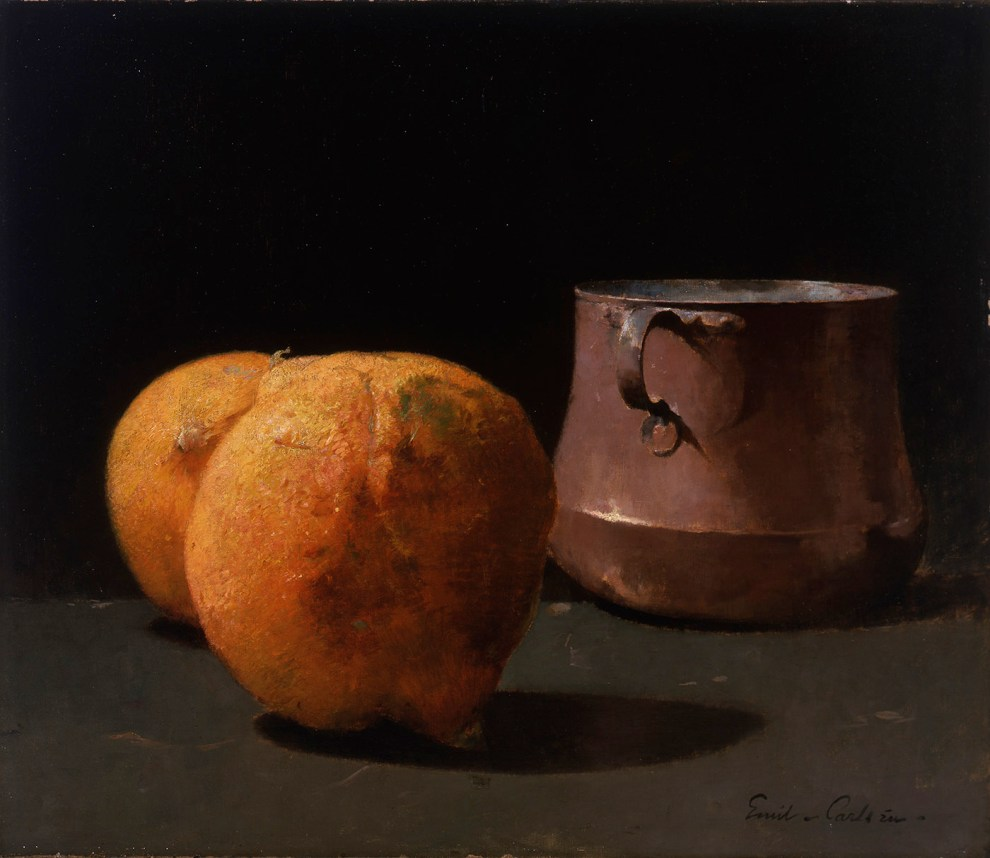 Still life [with oranges and pot], 1908