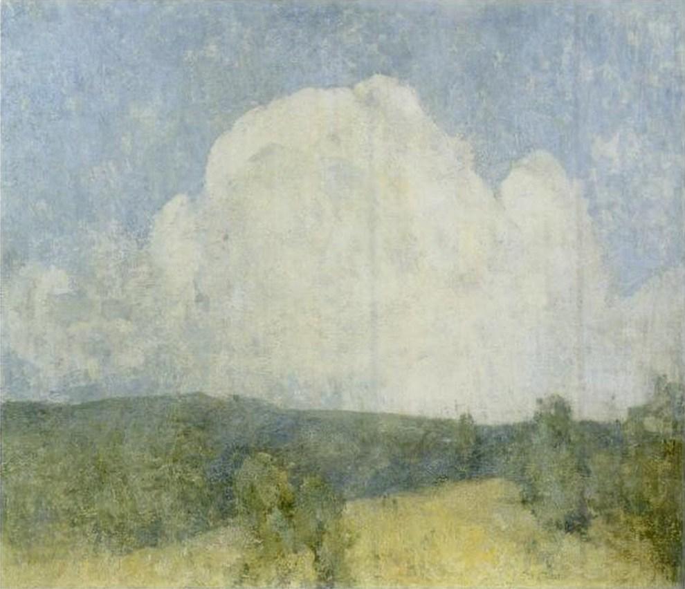 Emil Carlsen : Foothills, ca.1909.