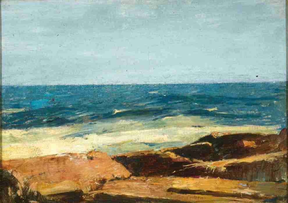 Emil Carlsen The Surf, Rocks and Water, ca.1909