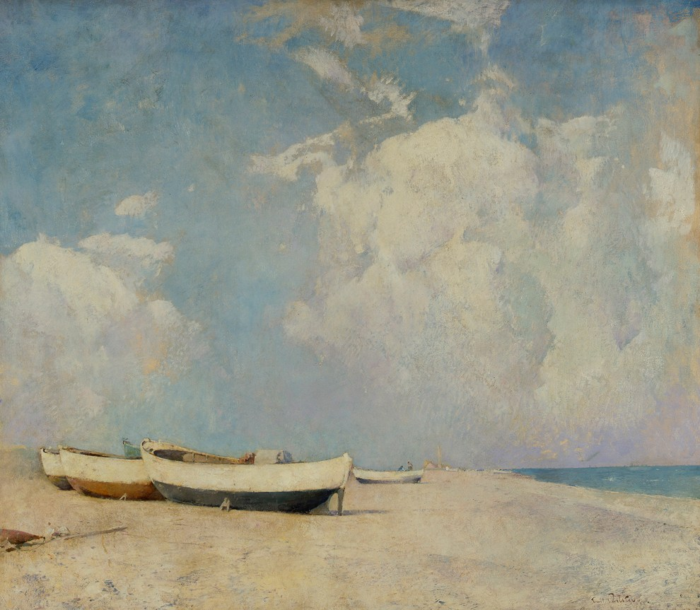 Emil Carlsen : Summer clouds, ca.1910.