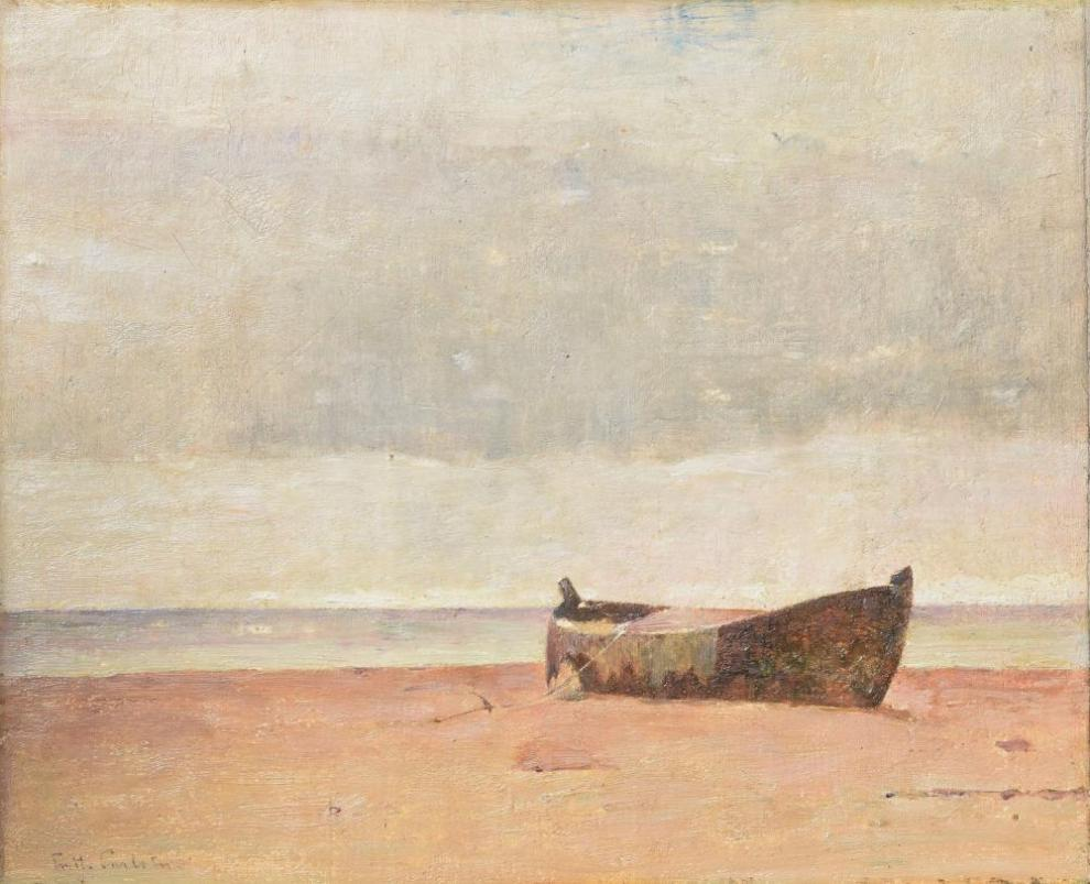 Emil Carlsen : The dory, ca.1910.