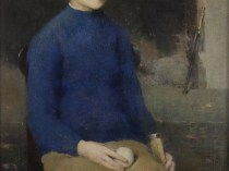 Emil Carlsen Dines Carlsen (also called Dines Carlsen at Ten & Dines Carlsen at 14 & Portrait of Dines No. 1), 1911