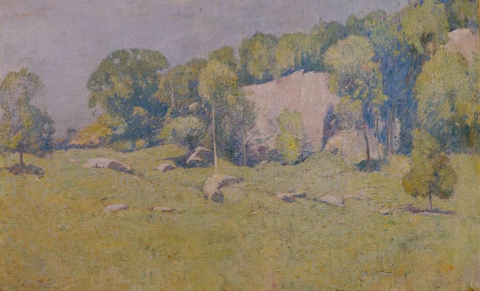 Emil Carlsen Godwin's Ridge, Greenwich, CT, 1912