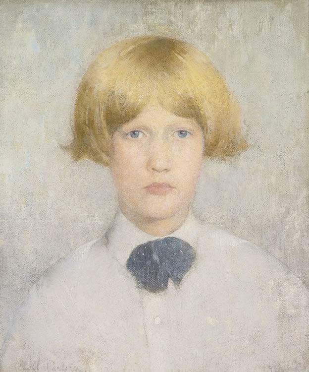 Emil Carlsen Portrait of Dines, 1912