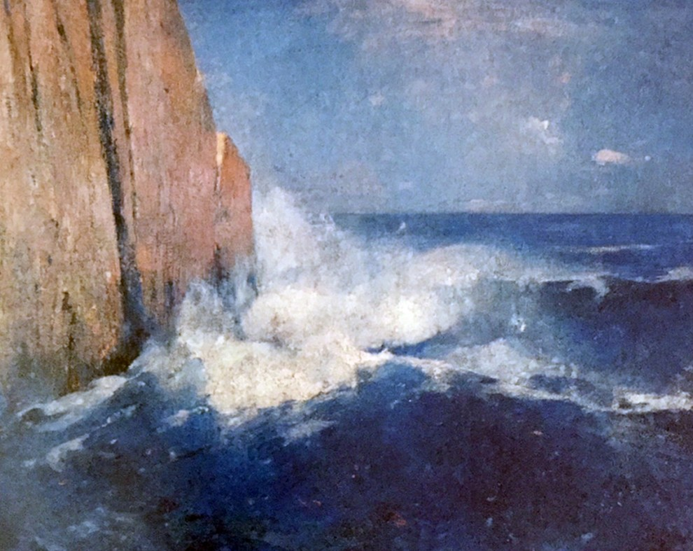 Emil Carlsen : Coast of Maine, 1914.