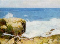 Emil Carlsen Crashing Wave (also called Low Tide), c.1920