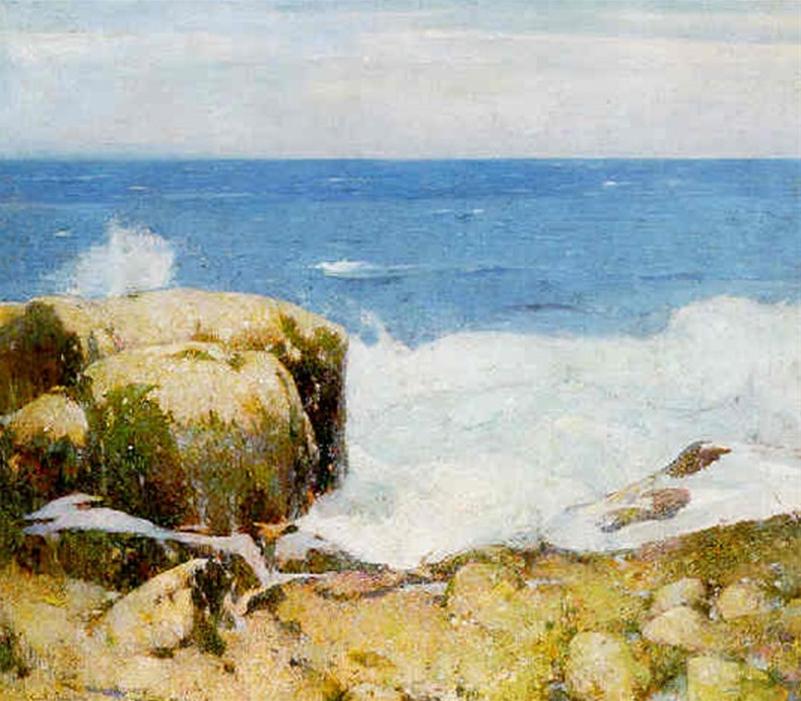 Emil Carlsen Crashing Wave (also called Low Tide), c.1920