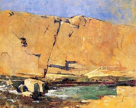 Emil Carlsen Quarry Wall, c.1914